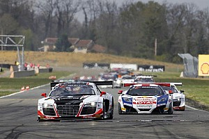 Blancpain Sprint Race report Eventful start to 2013 FIA GT Series season at Nogaro