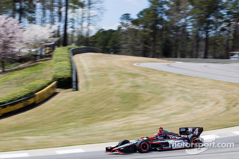 Panther's JR Hildebrand qualifies 24th at Barber Motorsports Park