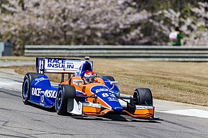 IndyCar Race report Kimball scores top-five finish at Barber
