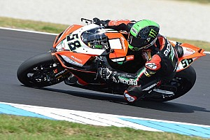 World Superbike Qualifying report Eugene Laverty leads the way in Friday qualifying at Aragon