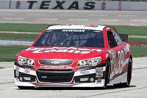NASCAR Cup Race report Timing is everything for Newman at Texas