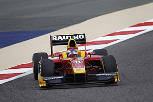 GP2 Race report Fabio Leimer and Racing Engineering win the Feature Race today in Bahrain