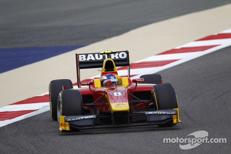 Fabio Leimer and Racing Engineering win the Feature Race today in Bahrain