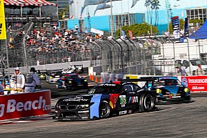 ALMS Race report BMW Team RLL Finishes 1-2 at Long Beach