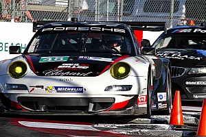 ALMS Race report Miller and Holzer rally for sixth-place GT finish at Long Beach