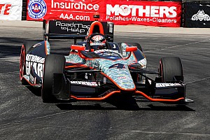 IndyCar Race report Hildebrand captures second consecutive top five on Long Beach streets