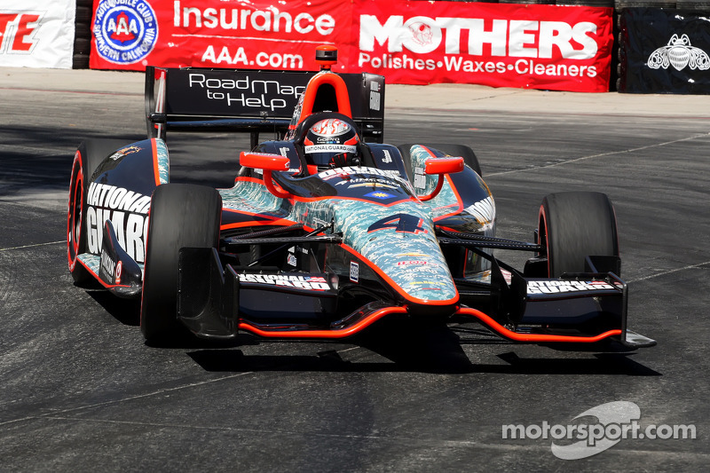 Hildebrand captures second consecutive top five on Long Beach streets