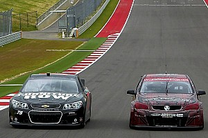 Supercars Special feature JC and Fabs swap cars with NASCAR and Supercross greats in Texas - Video