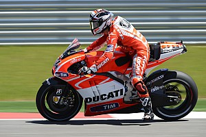 MotoGP Practice report Ducati Team back in action in Jerez on Friday practice