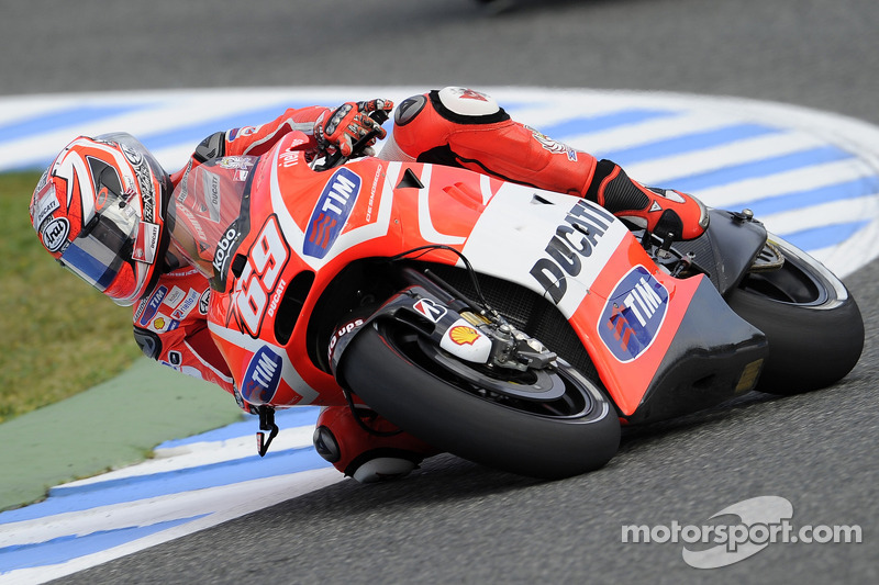 Row 3 for Ducati Team riders at Jerez