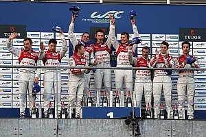 WEC Race report Audi 1-2-3 podium lockout in Belgium
