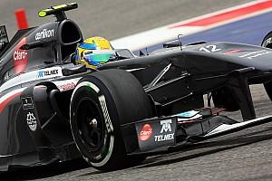 Formula 1 Breaking news Sauber not considering Gutierrez axe