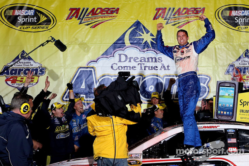 Front Row Motorsports earns first win in 1-2 Ragan-Gilliland finish at Talladega
