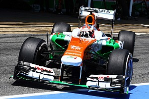 Formula 1 Qualifying report Qualifying for the Spanish GP saw Di Resta qualify in P10 and teammate Sutil in P13.