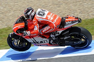 MotoGP Practice report Encouraging start for Ducati Team on French GP