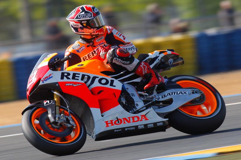 Bridgestone: Marquez edges Lorenzo in French MotoGP qualifying