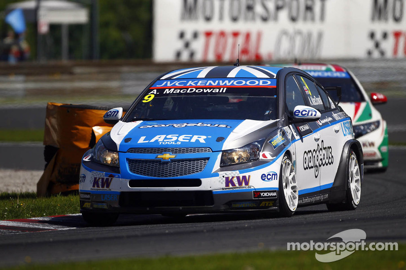 MacDowall eyeing success as championship debuts in Moscow