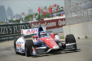 IndyCar Race report 19th place finish on 'Dual 1' in Detroit disappointed AJ Foyt's Sato