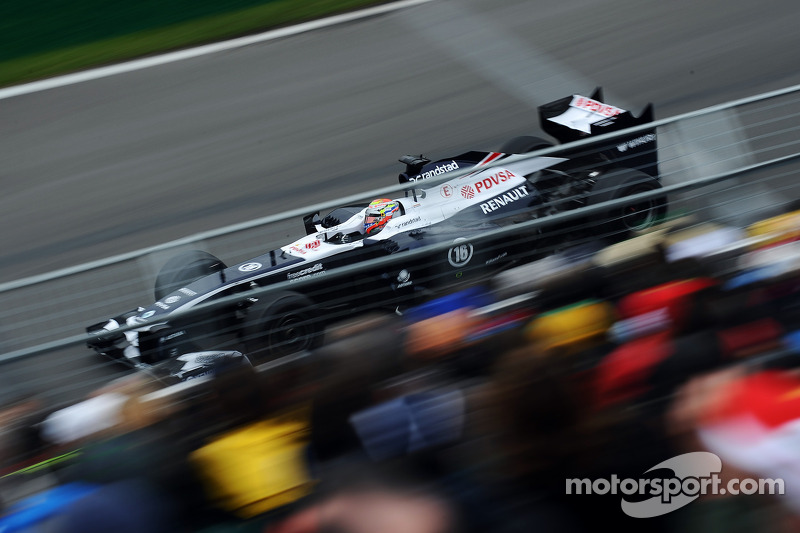 Maldonado crash on Friday in Canada didn't compromise Williams