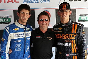 Grand-Am Qualifying report  Happy Father's Day! Taylor brothers sweep front row at Mid-Ohio