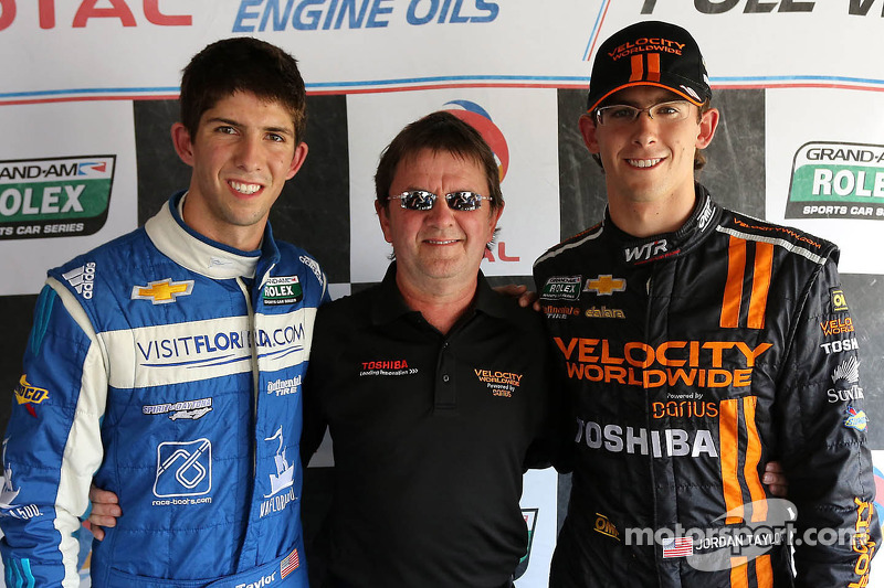 Happy Father's Day! Taylor brothers sweep front row at Mid-Ohio