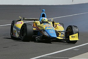 IndyCar Race report Competitive day for Wilson and Beatriz at the Milwaukee Mile