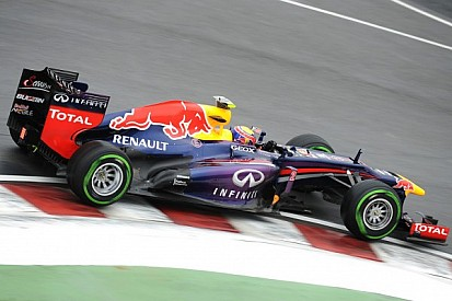 Photo shows apparent Red Bull 'traction control'