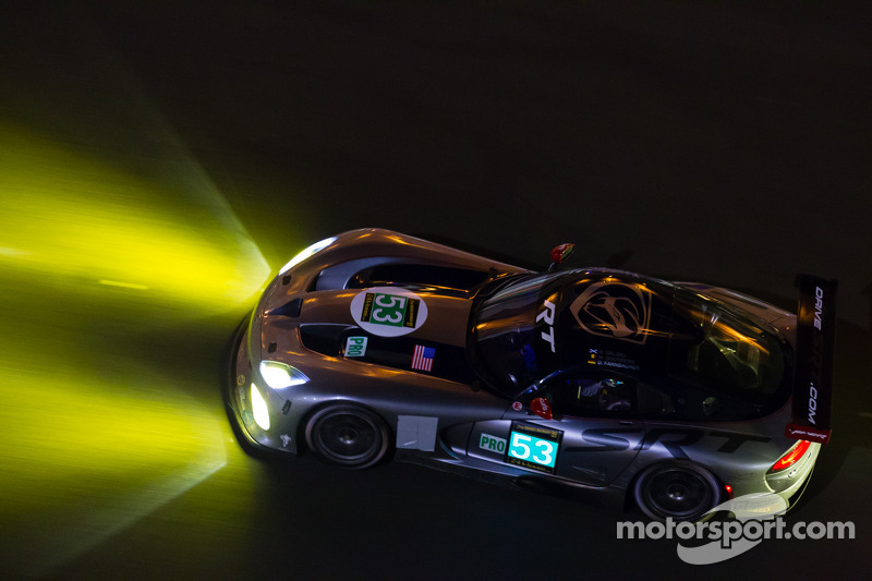 Dalziel helps bring Viper home on Le Mans return
