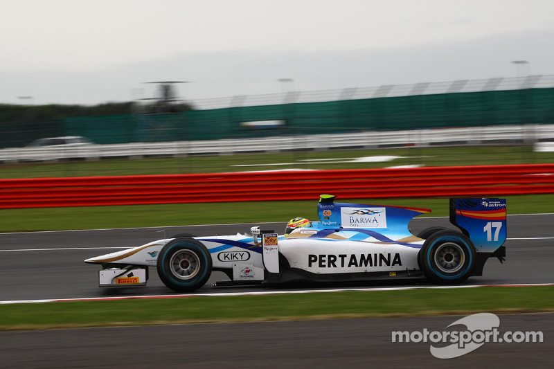 Barwa Addax team get back on the podium at Silverstone