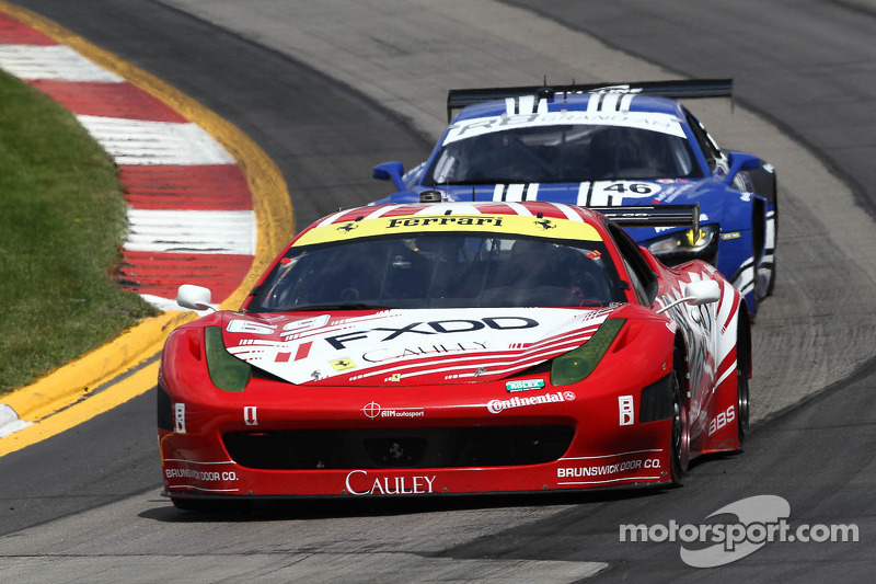 Season-Best second-place finish for AIM Autosport Team at The Glen
