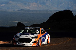 Hillclimb Race report Hankook driver Paul Dallenbach sets time attack world record at Pikes Peak