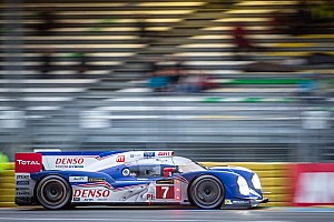 WEC Breaking news Toyota to only run one car for remainder of season