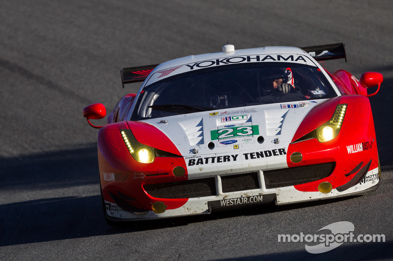 Team West Alex Job Racing to start Lime Rock seventh in GT