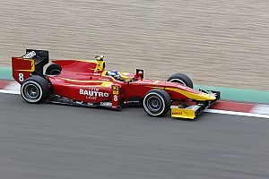 GP2 Race report Fabio Leimer and Racing Engineering take a hard fought 4th place today at the Nürburgring