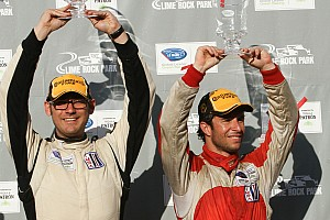 ALMS Race report Ende victorious in heat of Lime Rock