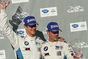 ALMS Race report BMW Z4 GTE wins Northeast Grand Prix