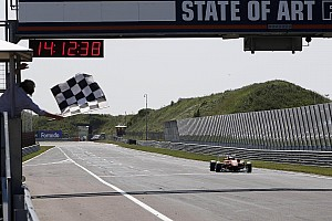 F3 Race report Mücke Motorsport scores third win at the Masters of Formula 3 in Zandvoort