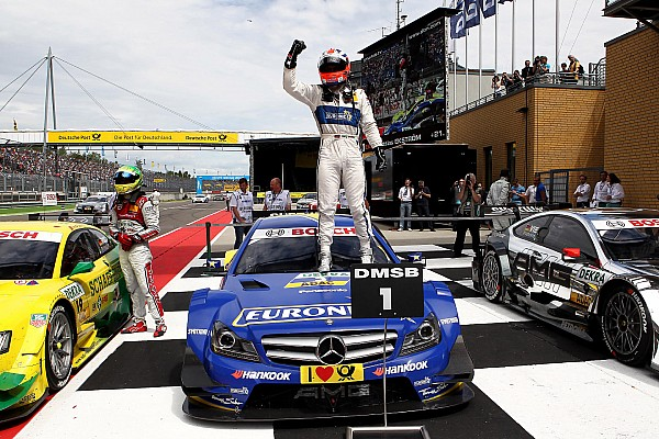 Mercedes-Benz: Fifth race of the season at the Norisring