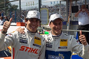 DTM Qualifying report Butterflies in his stomach - maiden pole for Robert Wickens