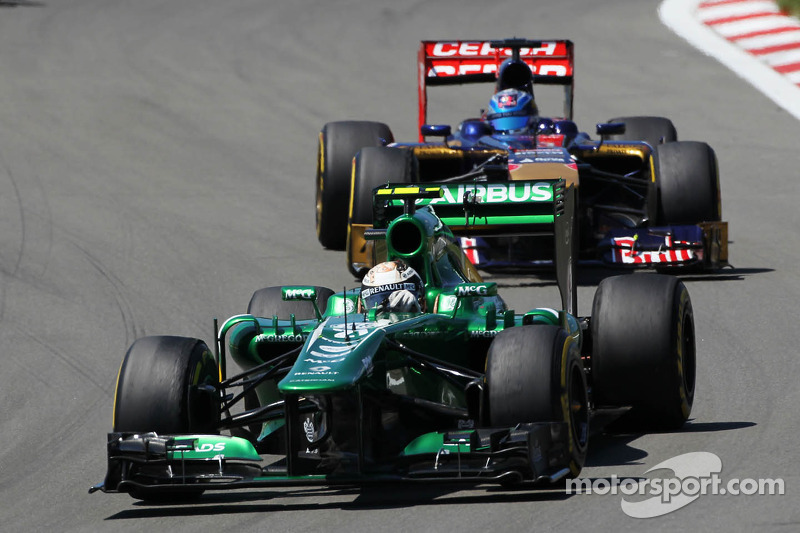 Caterham focusing on 2014 season - van der Garde