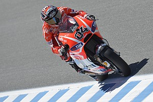 MotoGP Practice report Provisional front row for Dovizioso at Laguna Seca, Hayden ninth