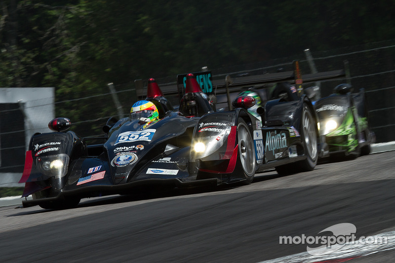 Podium finish for Mike Conway in his debut ALMS race