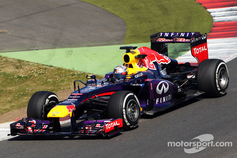 Vettel topped the timesheets on final day of YDT at Silverstone