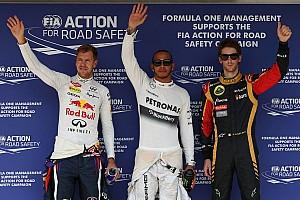 Formula 1 Breaking news Hamilton powers to Hungarian GP pole ahead of Vettel