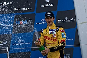 BF3 Race report Giovinazzi wins final race of weekend at rain sodden Spa