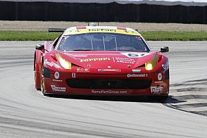 Grand-Am Race report Jeff Segal gives R.Ferri/AIM Motorsport Racing with Ferrari its first race win in the Brickyard GP
