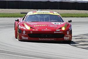 Grand-Am Race report Jeff Segal gives R.Ferri/AIM Motorsport Racing with Ferrari its first race win in the Brickyard GP