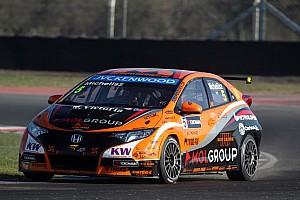 WTCC Qualifying report Honda Civics grab row 2 grid for Argentina WTCC start