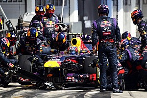 Formula 1 Breaking news Red Bull also leads pitstop race in 2013