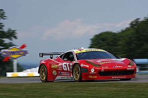 Grand-Am Qualifying report AIM Motorsport Racing with Ferrari 458 Italia will start fifth Saturday at Road America